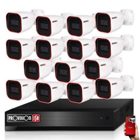Provision AHD-23 Überwachungssystem mit 15 Kameras HD 1920x1080P