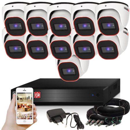 Provision AHD-23 Dome Kamerasystem mit 11 Kamera HD Full HD 1920x1080