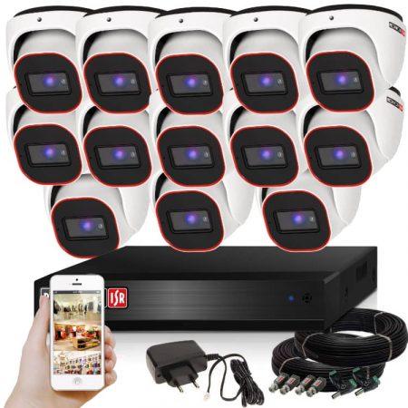 Provision AHD-23 Dome Kamerasystem mit 13 Kamera HD Full HD 1920x1080