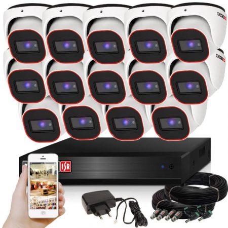 Provision AHD-23 Dome Kamerasystem mit 14 Kamera HD Full HD 1920x1080