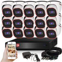 Provision AHD-23 Dome Kamerasystem mit 15 Kamera HD Full HD 1920x1080