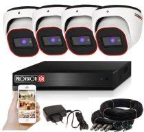 Provision AHD-23 dome 4 kamerás megfigyelő kamerarendszer 2MP FULL HD