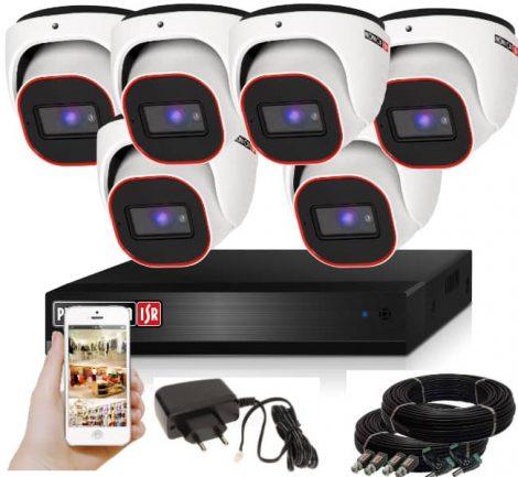 Provision AHD-23 Dome Kamerasystem mit 6 Kamera HD Full HD 1920x1080