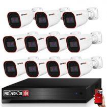 Provision AHD-36 11 kamerás kamerarendszer 2MP Full HD 1920X1080p