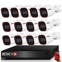 Provision AHD-36 13 kamerás kamerarendszer 2MP Full HD 1920X1080p