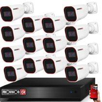 Provision AHD-36 14 kamerás kamerarendszer 2MP Full HD 1920X1080p