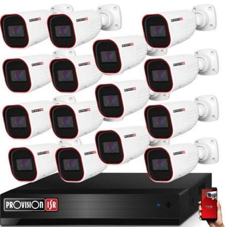 Provision AHD-36 15 kamerás kamerarendszer 2MP Full HD 1920X1080p