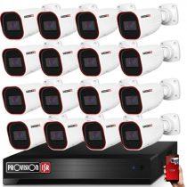 Provision AHD-36 16 kamerás kamerarendszer 2MP Full HD 1920X1080p
