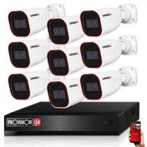 Provision AHD-36 Überwachungssystem mit 9 Kameras HD 1280X720