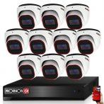 Provision AHD-36 dome 10 kamerás megfigyelő kamerarendszer 2MP FULL HD