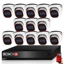 Provision AHD-36 dome 13 kamerás megfigyelő kamerarendszer 2MP FULL HD