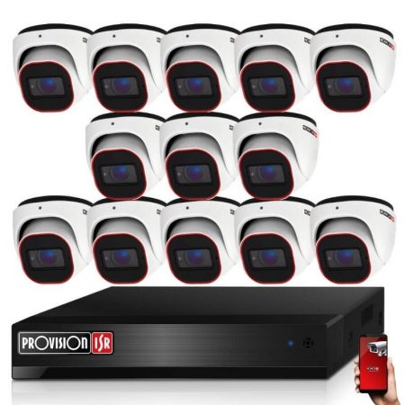 Provision Full HD36 dome Kamerasystem mit 13 Kameras