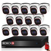 Provision AHD-36 dome 14 kamerás megfigyelő kamerarendszer 2MP FULL HD