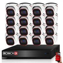 Provision Full HD36 dome Kamerasystem mit 16 Kameras