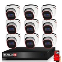 Provision Full HD36 dome Kamerasystem mit 9 Kameras