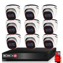 Provision AHD-36 dome 9 kamerás megfigyelő kamerarendszer 2MP FULL HD
