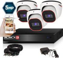 5 MegaPixel Provision AHD-20 Dome 1 kamerás kamera rendszer
