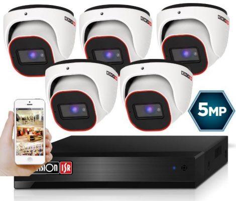 5 MegaPixel Provision AHD-20 Dome 5 kamerás kamera rendszer