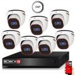 5 MegaPixel Provision AHD-20 Dome 7 kamerás kamera rendszer