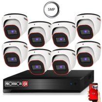 5 Megapixel Provision AHD-20 Überwachungssystem mit 8 Dome Kamera 2592x1944P