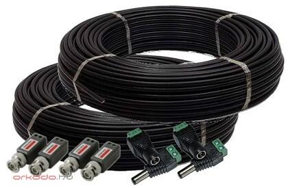 biztonsági kamera rendszer kábel