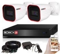 5 MegaPixel Provision AHD-30 2 kamerás megfigyelő kamerarendszer