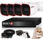 5 MegaPixel Provision AHD-30 4 kamerás megfigyelő kamerarendszer