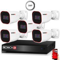 5 MegaPixel Provision AHD-30 5 kamerás megfigyelő kamerarendszer