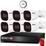5 MegaPixel Provision AHD-30 6 kamerás megfigyelő kamerarendszer