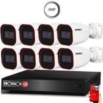 Provision AHD-30 Kamerasystem mit 8 Kamera 2592x1944P Auflösung