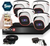 5 Megapixel Provision AHD-30 Überwachungssystem mit 4 Dome Kamera 2592x1944P
