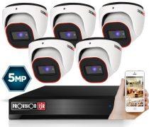 5 MegaPixel Provision AHD-30 Dome 5 kamerás kamera rendszer