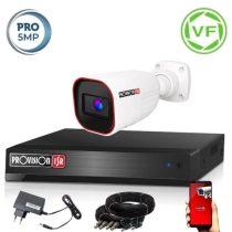 5 MegaPixel Provision AHD-40 1 kamerás megfigyelő kamerarendszer