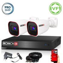5 MegaPixel Provision AHD-40 2 kamerás megfigyelő kamerarendszer