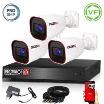 5 MegaPixel Provision AHD-40 3 kamerás megfigyelő kamerarendszer