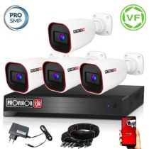 5 MegaPixel Provision AHD-40 4 kamerás megfigyelő kamerarendszer