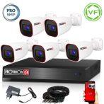 5 MegaPixel Provision AHD-40 5 kamerás megfigyelő kamerarendszer