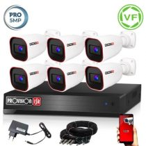 Provision AHD-40 Kamerasystem mit 6 Kamera 2592x1944P Auflösung