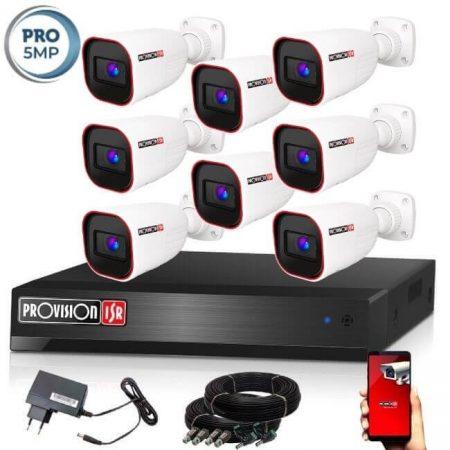 Provision AHD-40 Kamerasystem mit 8 Kamera 2592x1944P Auflösung