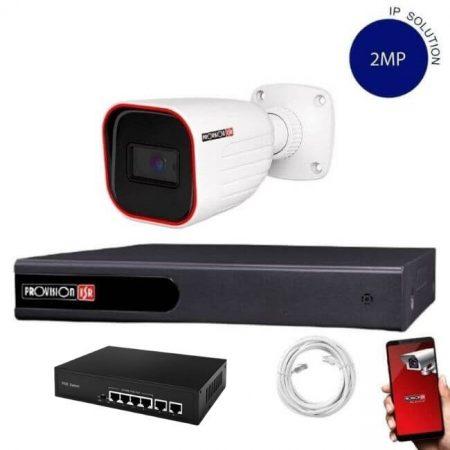 Provision Full HD 1 kamerás IP kamera rendszer 2 MP