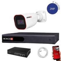 Provision IP kamera rendszer Full HD 2 MegaPixel 1 kamerás