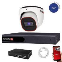 Provision FullHD dome IP 1 kamerás rendszer