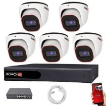 Provision FullHD dome IP 5 kamerás rendszer
