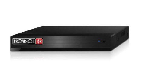 PR-NVR5-4100PX+MM 4 csatornás asztali NVR rögzítő IP kamerákhoz
