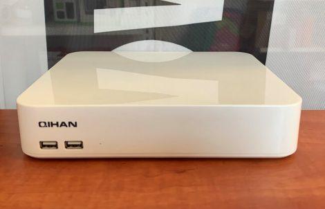 QH-N2008A-H 8 csatornás IP NVR rögzítő - bontatlan, kifutott termék