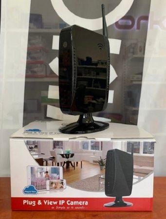 Provision router házba rejtett kamera 1MP - bemutatódarab, működőképes