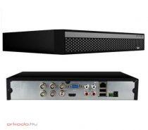 5 megapixeles 4 csatornás hybrid asztali DVR rögzítő