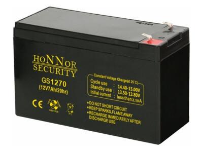 Honnor HS12-7 riasztó akkumulátor 12V 7AH játékokba akkumulátor