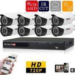 8 kamerarendszer csomag