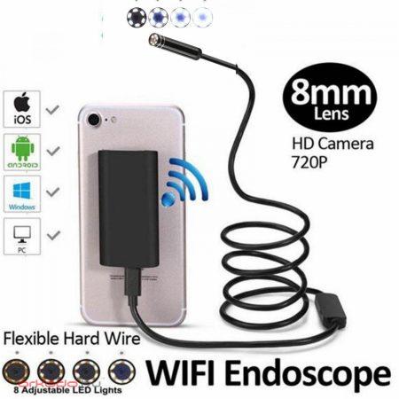 Wifi endoszkóp kamera telefonhoz 5 méteres kábellel